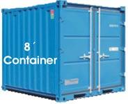 Selfstorage Nürnberg - 8' Container